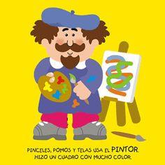 Poesías infantiles de profesiones y oficios para niños