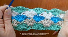 How to Crochet a Shell Stitch: