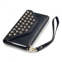 Plånboksväska av nitar. Hitta din mobilväska i vår guide: http://www.phonelife.se/mobilvaska