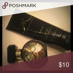 Kim Kardashian perfume/lotion gold Kim Kardashian perfume and lotion. Used both a few times. Perfume bottle 1 fl oz lotion 3.4 fl oz Other