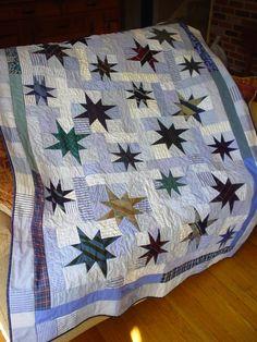 Starburst Necktie Quilt