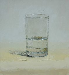 Light Space, oil on panel by Brian Blackham