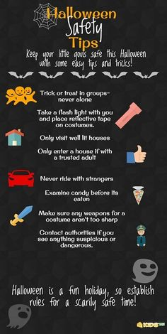 Love these Halloween Safety Tips! #halloween