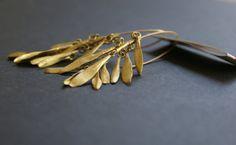 otto long earrings by mariasolorzano on Etsy, $40.00