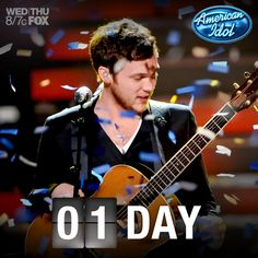 1 more day 'til the confetti shower! Tune in tonight to watch Kree Harrison and Candice Glover perform for your votes!