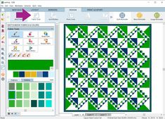 Design & Discover – Sashing!   The Electric Quilt Blog Electric Quilt, Foundation Piecing, Layout, Strip Quilts, Quilting Designs, Projects, Blog, Log Projects, Blue Prints