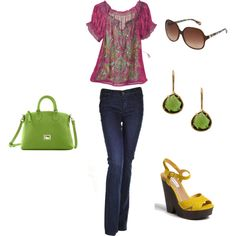 I <3 spring colors., created by natytete on Polyvore