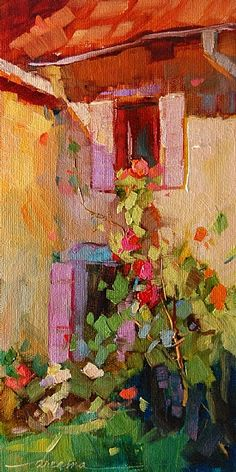 """""""The Light Falls Softly in France"""" SOLD"""