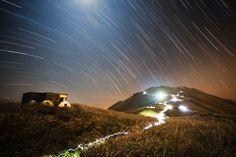 "Winner – ""Sunset Peak Star Trail"", by Chap Him Wong, Hong Kong"