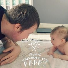 Rad like Dad  We love this Dad & baby bonding  @autumnrau1 thanks for sharing  this moment with our 'Mom&Dad' artwork  TO BE FEATURED HERE  tag photos made with @BabyStoryApp #BabyStoryApp