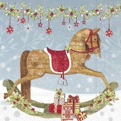 Image result for rocking horse napkins