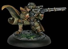 Malifaux Outcasts #5046 Freikorps Trapper