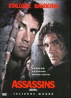 A gallery of Assassins publicity stills and other photos. Featuring Sylvester Stallone, Antonio Banderas, Julianne Moore, Anatoli Davydov and others. Julianne Moore, Love Movie, Movie Tv, Style Movie, Movie Props, Assassin Movies, 1995 Movies, Films Cinema, Action Film