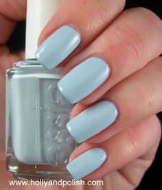 Holly and Polish: Essie Borrowed and Blue