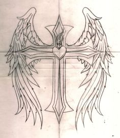 23 Best Cross With Wings Images Jesus Tattoo Tattoo Art Tattoo Ideas