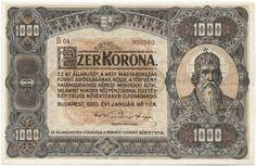 1000 Korona 1920 (Szent István) Ungarn Königreich