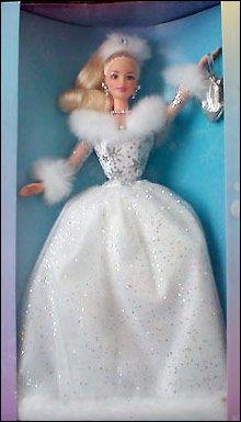 2002 Winter's Reflection Barbie, a rare Avon Exclusive - NRFB/MIB - $75 - No Longer Available from Mattel or Avon