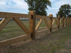 Custom farm fence