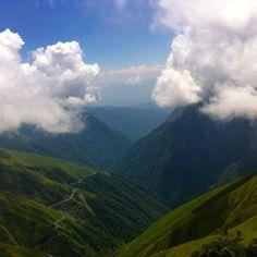 Tusheti | თუშეთი in Omalo, კახეთის მხარე Mountain hike