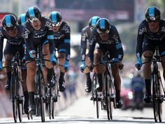 TOUR DE FRANCE 2013 STAGE FOUR  Team Sky's result ensured that Chris Froome put time on all his main rivals