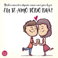 Não é apenas ter alguém para dizer eu te amo todo dia, mas sim ter VOCÊ pra dizer eu te amo todo dia! ❤️ ⠀ #PraCegoVe This Is Love, Love Of My Life, Love Messages, Decir No, Love Quotes, Motivational Quotes, Romance, Words, Bolo Minnie