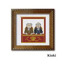 Cross Stitch Pattern From the balcony Instant от TinyNeedle