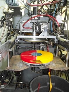 pressing multi color vinyl records