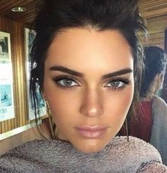 This dewy, glory, natural look
