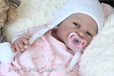 Solid Silicone Baby Dolls | Romie Baby*Full Bodied solid SILICONE doll*sculpted & reborn by ...