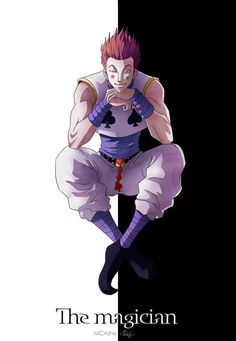 "Hisoka from ""Hunter X Hunter"""