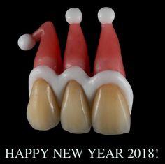 С Новым 2018 годом! Автор креатива: Костя Вышемирский (Рига, Латвия) insta: @kostia_vyshamirski_dt #стоматология #dentistry