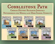 Cobblestone Path Church History Research Journals: Notebooking for Middle and High School Students. Read a review at ichoosejoy.org