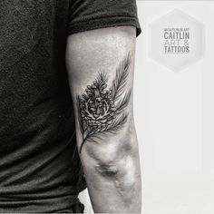 Pine Cone Tattoo by caitlinlm.art