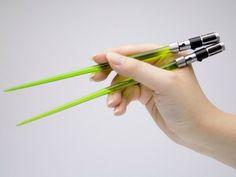 Lightsaber Chopsticks #Starwars #Nerd #Geek