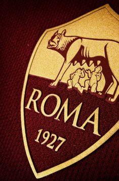 Roma - iPhone 6 Wallpaper Dark by on DeviantArt Cover Wallpaper, Iphone 6 Wallpaper, As Roma, Sports Art, Sports Logo, Totti Francesco, Totti Roma, Squad Photos, Football Gif