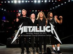 Metallica is touring Asia!