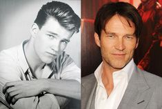 Stephen Moyer, Then and Now
