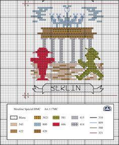 Viaje por Europa: Berlín - Visita nuestra tienda en línea http://www.disenosparabordar.com/shop/