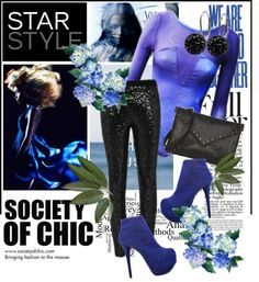 """SHOP - SOCIETY OF CHIC"" by ladymargaret ❤ liked on Polyvore"