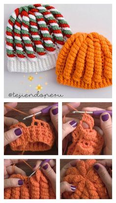 Crochet 3D Serpentine Stitch Hat Video Tutorial