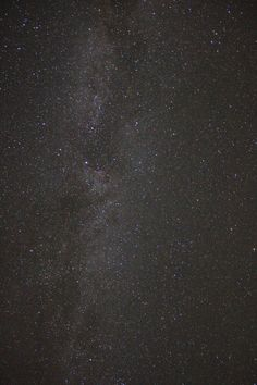 Long exposure photography - the Milky Way