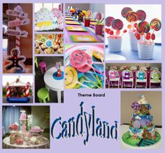 Candy Land Party Theme! Oh my! For those who love their sweets! We can do this cute whimsical candy land idea for your jewelry bar!   Book today! email me at charming.layah@gmail.com