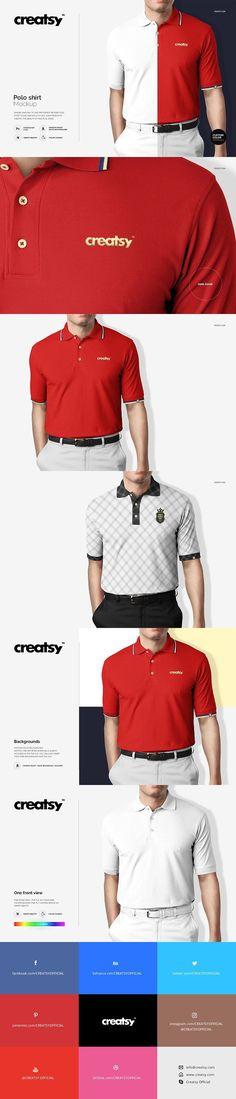Polo Shirt Mockup. Product Mockups