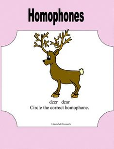 Printable Worksheets-A Comprehensive review of Homophones This 14 page collection of printable worksheets provides practice in identifying and using homophones correctly. It is a sequenced complete review that will give your students plenty of practice in this skill. This is an excellent way to build vocabulary acquisition and use. There is an Answer Key provided.