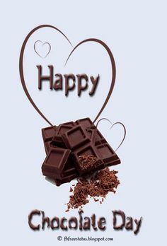 Are you looking for Happy Chocolate Day Wishes? We have come up with a handpicked collection of Happy Chocolate Day Quotes and Images. Chocolate Day Pictures, Happy Chocolate Day Images, Chocolate Quotes, Love Chocolate, Homemade Chocolate, Delicious Chocolate, Chocolate Lovers, Chocolate Cake, Valentine Day Week