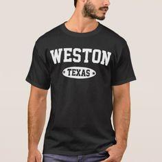 Weston Texas T-Shirt - diy cyo customize create your own #personalize