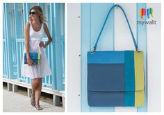 Our Santorini collection features versatile shapes with hidden pockets and a bright mix of colours!