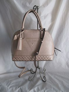 55c899a608 Bag Handbag Purse Guess Color Champagne Style LE637106 Group Baldwinpark New   GUESS  TotesShoppers Guess