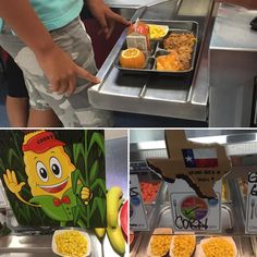Great Plate of Texas 4 National School Lunch week w/house made Enchilada Stack, & Tx corn @ltisdschools #NSLW