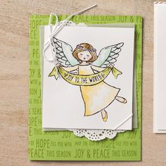 Wonder of Christmas Wood-Mount Stamp Set by Stampin' Up!